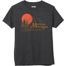 Marmot Redpoint T-shirt Homme, charcoal heather